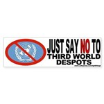 No UN Bumper Sticker