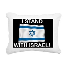 I stand yard sign Rectangular Canvas Pillow