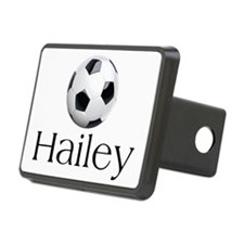 Hailey Soccer Rectangular Hitch Cover