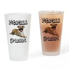 PitBullGrandpa_Tigger Drinking Glass