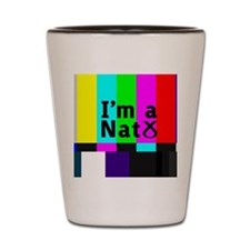 nat_colour_bars Shot Glass