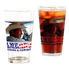 BushAMERICA Drinking Glass