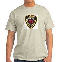 Springfield Traffic Police Ash Grey T-Shirt