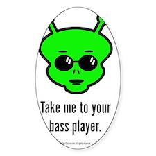 Bass Alien Decal