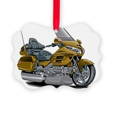 Goldwing Gold Bike Ornament
