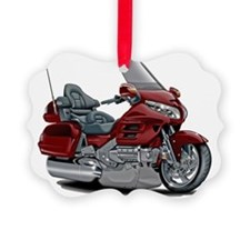Goldwing Maroon Bike Ornament