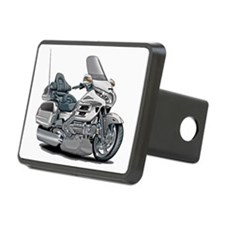 Goldwing White Bike Hitch Cover