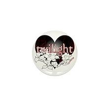 Twilight Flowers by Twibaby Mini Button