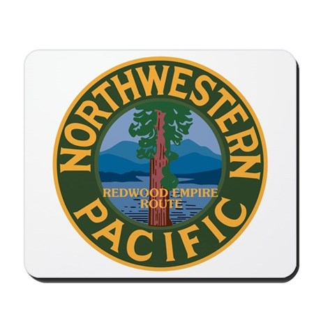 Northwestern Pacific Railroad Mousepad
