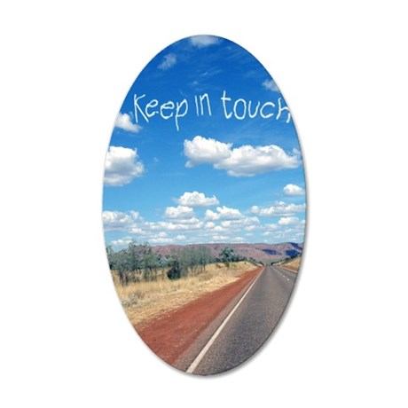 openroad_11x17_print 35x21 Oval Wall Decal