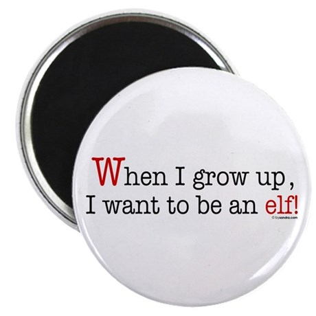 "... an elf 2.25"" Magnet (10 pack)"