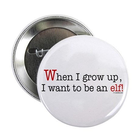 "... an elf 2.25"" Button (10 pack)"
