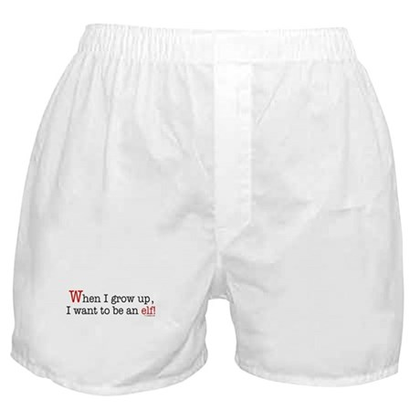 ... an elf Boxer Shorts