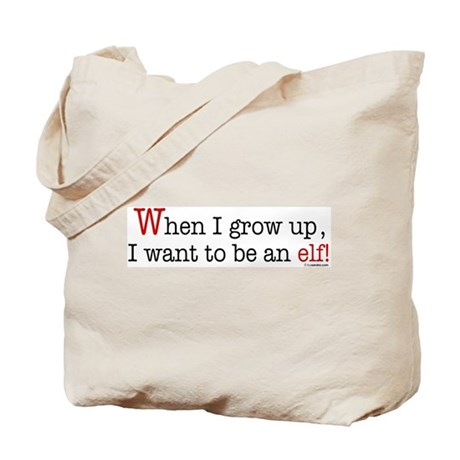 ... an elf Tote Bag