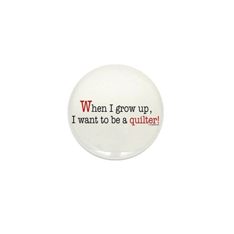 ... a quilter Mini Button (100 pack)