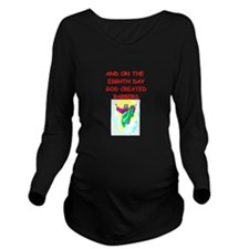 BARBERS.png Long Sleeve Maternity T-Shirt