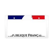 REPUBLIQUE FRANCAISE License Plate Holder