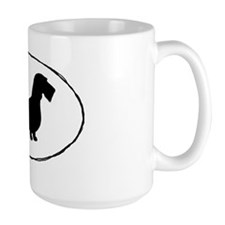 wirehairdoxiesticker Coffee Mug