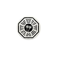 Dharma Palm Mini Button