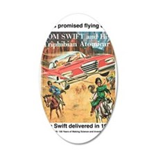 Flying Car Tom Swift Wall Decal