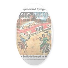 Flying Car Tom Swift Decal