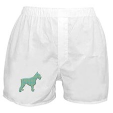 Paisley Schnauzer Boxer Shorts