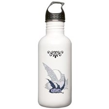 Sleeping Blue Dragonet Water Bottle