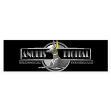 Anubis Digital Bumper Bumper Sticker