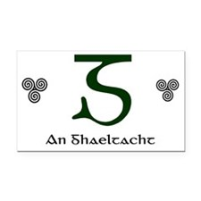 Gaeltacht Rectangle Car Magnet