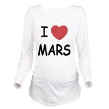 MARS01 Long Sleeve Maternity T-Shirt