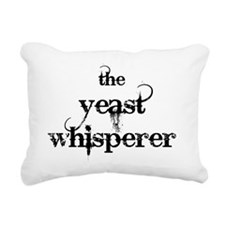 yeast whisperer 2000 bla Rectangular Canvas Pillow