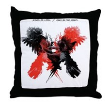 kings_of_leon_OBTN_cover_select Throw Pillow