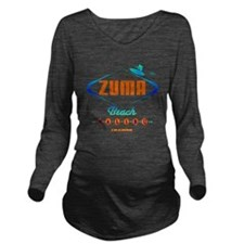 ZUMARETRO Long Sleeve Maternity T-Shirt