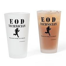 eod tech light Drinking Glass