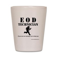 eod tech light Shot Glass