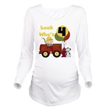 TRANSFIREMAN4TH Long Sleeve Maternity T-Shirt