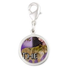 The Stray Notecard Silver Round Charm
