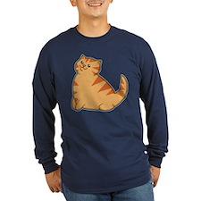Happy Fat Orange Cat T