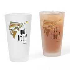 got trout 2 Drinking Glass