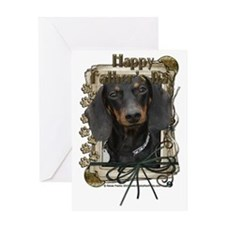 French_Quarters_Dachshund_Winston Greeting Card