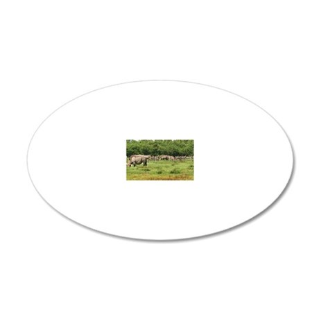 Africa-MP 20x12 Oval Wall Decal