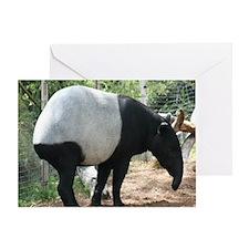 Tapir-MP Greeting Card