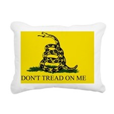 2-Gadsden Flag - DONT TR Rectangular Canvas Pillow