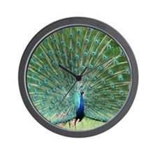 peacock-MP Wall Clock