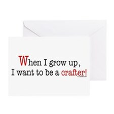 ... a crafter Greeting Cards (Pk of 10)