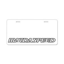 msp-speed Aluminum License Plate