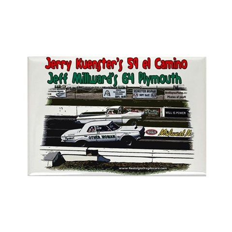 JeffJerry Rectangle Magnet