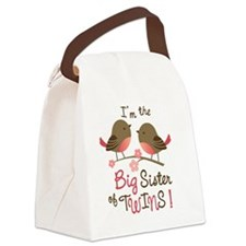 BSTwinsBirdie Canvas Lunch Bag
