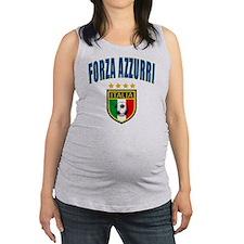 forza azzurri a Maternity Tank Top