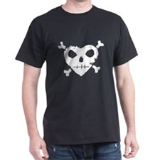 Jolly Roger Heart T-Shirt